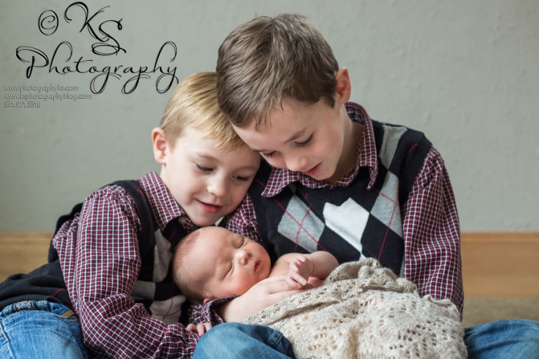 Albany Oregon Newborn Portraits