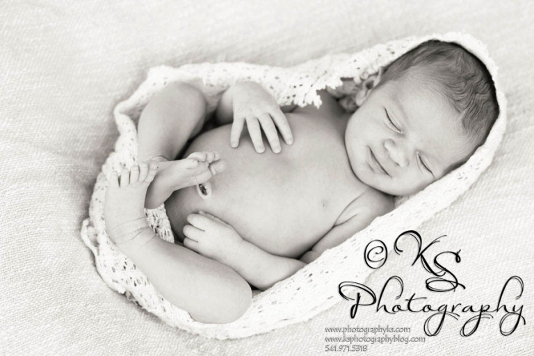 Albany Oregon Newborn Photos