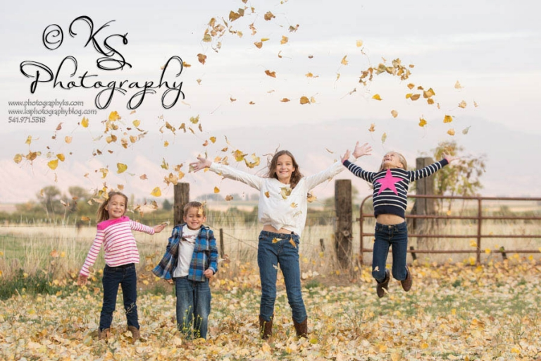Fall Family Photography Oregon